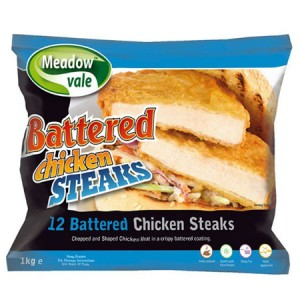 chicken steak battered