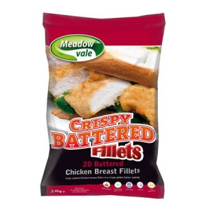 crispy battered fillets