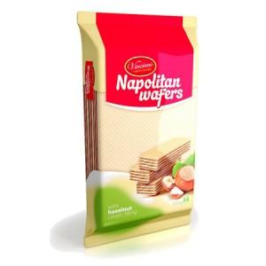 Napolitan Wafers Hazelnut