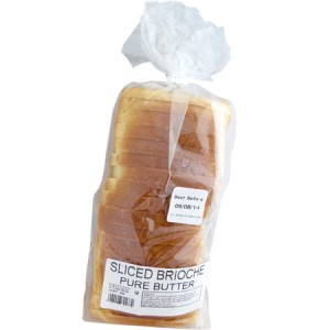 Sliced Brioche