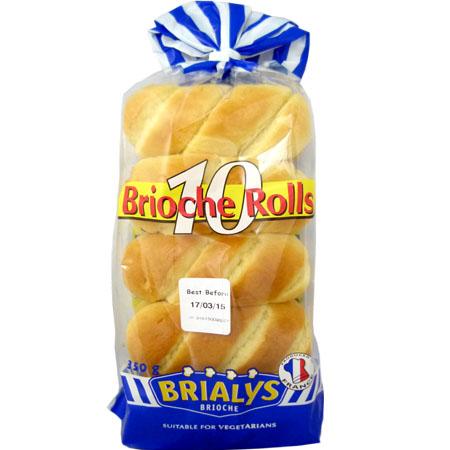 brioche rolls